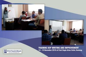 Kegiatan Training SOP Writing & Improvement
