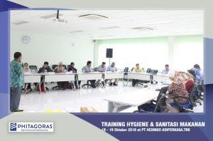 Foto Kegiatan Training Food Hygiene dan Sanitasi - 18-19 Oktober 2018