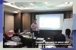 Kegiatan Training Pengawas K3 Migas Sertifikasi BNSP