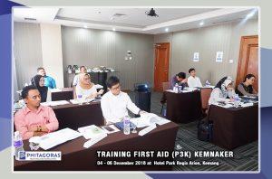 Training First Aid P3K Sertifikasi KEMNAKER