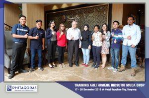Foto Kegiatan Training Ahli Higiene Industri Muda BNSP