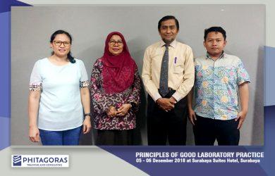 Principles of good Laboratory Practices Training