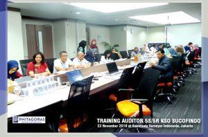 Kegiatan Training Auditor 5S/5R KSO Sucofindo