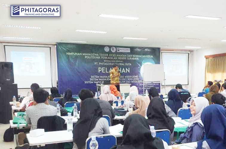 Inhouse Training Integrated Management System (IMS) 9001,18001, dan 45001, Himpunan Mahasiswa PPNS, 25-26 Januari 2020